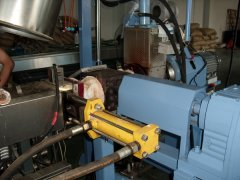 screen changer application in pelletizing production line