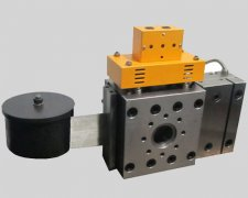 Application of Continuous Hydraulic screen changer